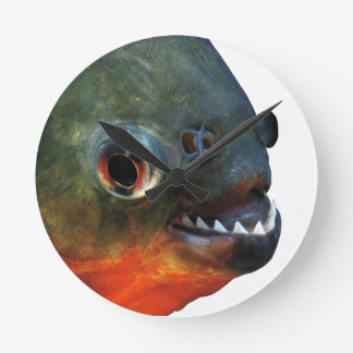 Product of piranha round clock