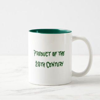 Product of the20th Century Two-Tone Coffee Mug