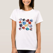 Product of the photograph entering of Betta T-Shirt