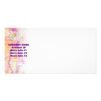 Product Photo,Announcement  - Just Peachy Personalized Photo Card