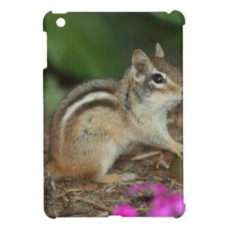 product with photo of cute chipmunk iPad mini cases