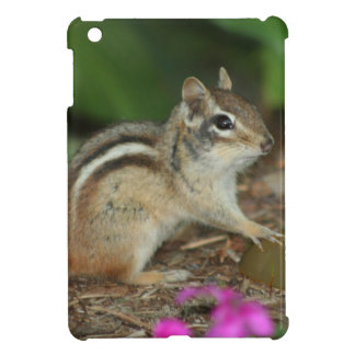 product with photo of cute chipmunk iPad mini cover