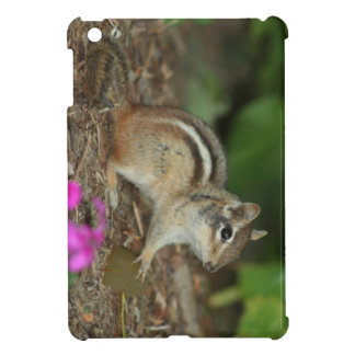 product with photo of cute chipmunk iPad mini covers
