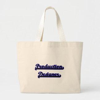 Production Designer Classic Job Design Jumbo Tote Bag