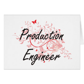 Production Engineer Artistic Job Design with Butte Card