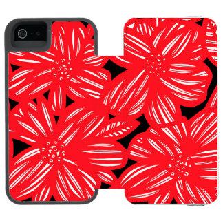 Productive Versatile Self-Confident Luminous Incipio Watson™ iPhone 5 Wallet Case