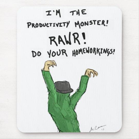 Productivity Monster Mousepad