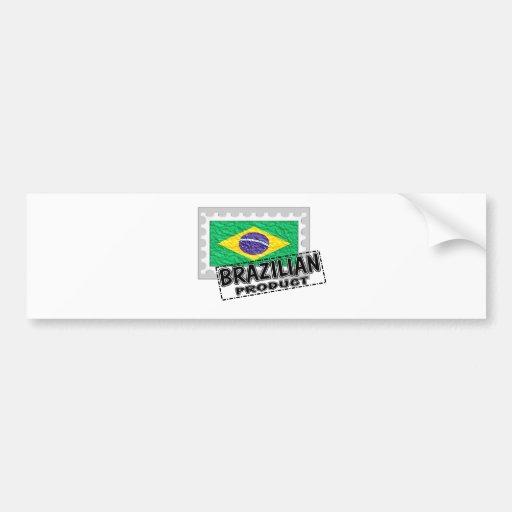 Producto brasileño pegatina para auto