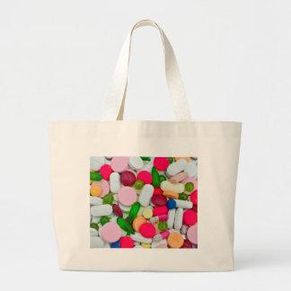 Producto colorido del personalizado de las bolsa tela grande