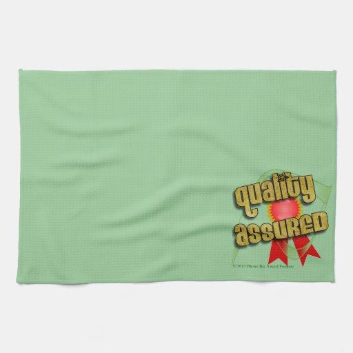 Producto confiado del logotipo de la calidad de la toalla de cocina