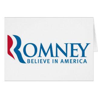 Producto de la elección de la campaña presidencial tarjeta de felicitación