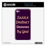 ¡Producto de Zazzle diseñado por usted! iPhone 4S Calcomanías