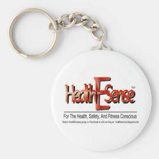 Producto del logotipo de HealthEsense Llavero Redondo Tipo Pin
