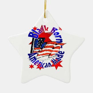 Producto del personalizar adorno navideño de cerámica en forma de estrella