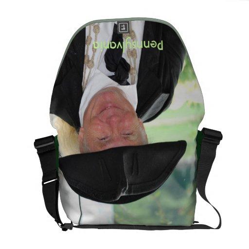 Producto del personalizar bolsas messenger