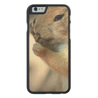 Producto del personalizar funda de iPhone 6 carved® de arce