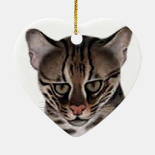 Producto del personalizar adorno de cerámica en forma de corazón