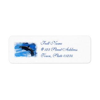Producto del personalizar etiquetas de remite