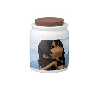 Producto del personalizar jarra para caramelo
