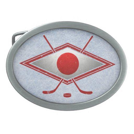 Producto del personalizar hebilla de cinturón oval