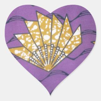 Producto del personalizar pegatina en forma de corazón