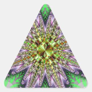 Producto del personalizar pegatina triangular