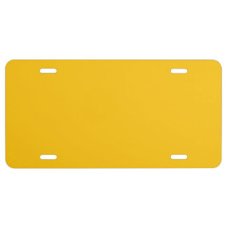 Producto del personalizar placa de matrícula