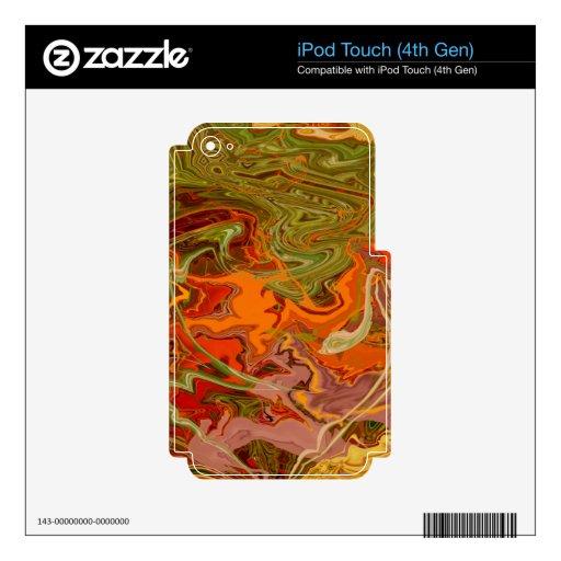 Producto del personalizar calcomanías para iPod touch 4G