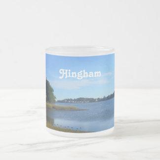 Producto del personalizar taza de café esmerilada