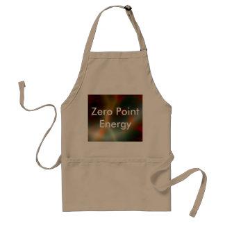 Producto del promo de la energía de punto cero delantal