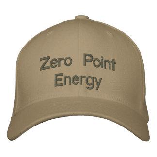 Producto del promo de la energía de punto cero gorra de béisbol