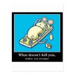 Producto divertido del ratón tarjetas postales