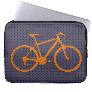 producto elegante fresco de la bici funda computadora