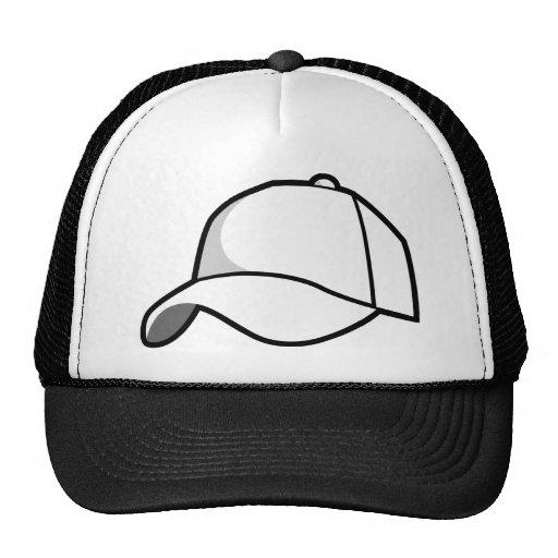 Producto en blanco en un producto en blanco gorra