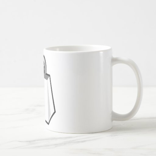 Producto en blanco en un producto en blanco tazas de café