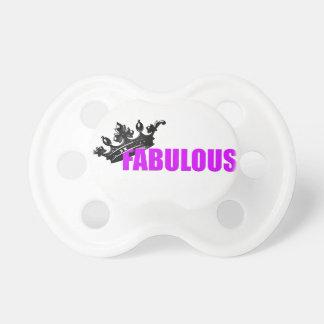 Producto fabuloso chupete de bebé
