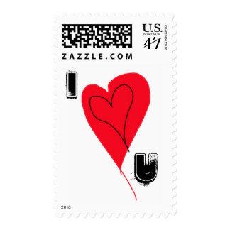 Producto irlandés del corazón del galón sellos postales
