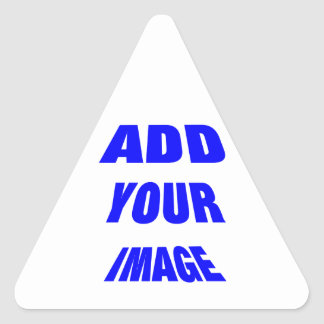 Producto que rinde grandes beneficios calcomanía de triangulo personalizadas