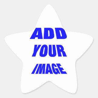 Producto que rinde grandes beneficios calcomanías forma de estrellaes personalizadas