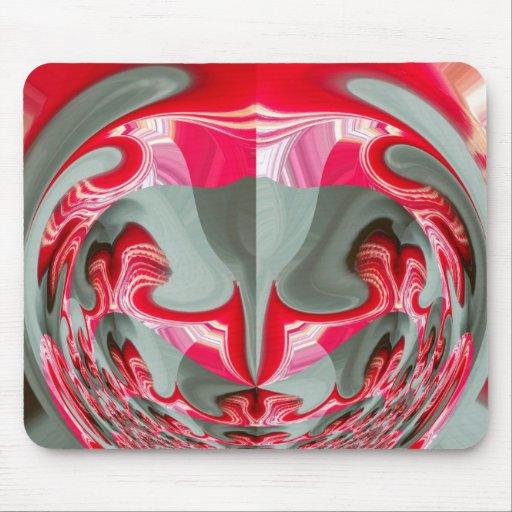 Producto rojo del personalizar de los regalos de H Alfombrillas De Raton
