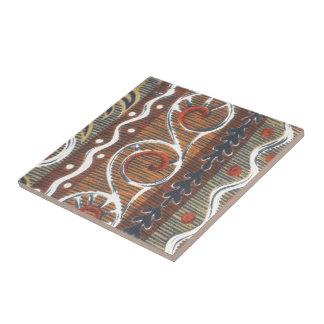 Producto tradicional del personalizar del vintage azulejo cuadrado pequeño