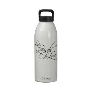 Producto vivo del personalizar del amor de la risa botellas de beber