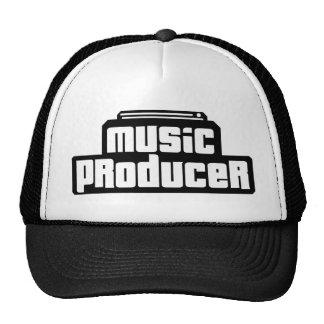 Productor adaptable de la música gorras de camionero