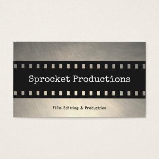 Productor cinematográfico del cineasta de la tarjetas de visita