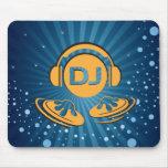 Productor de la música o estera del ratón de DJ Tapetes De Raton
