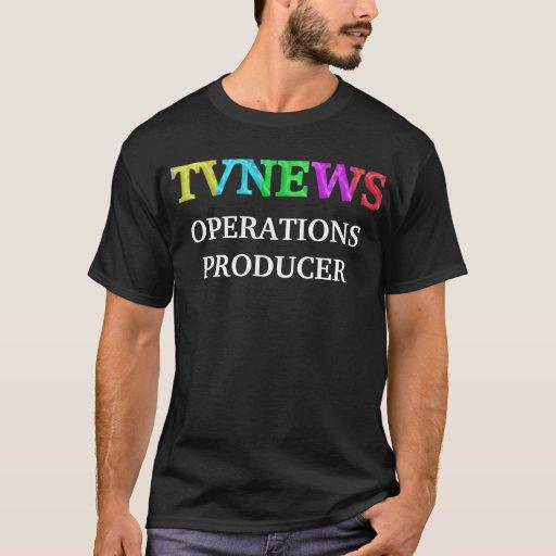 PRODUCTOR DE LAS OPERACIONES DE TVNEWS PLAYERA
