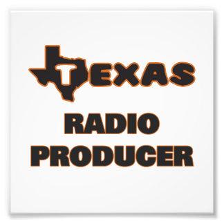 Productor de radio de Tejas Fotografías