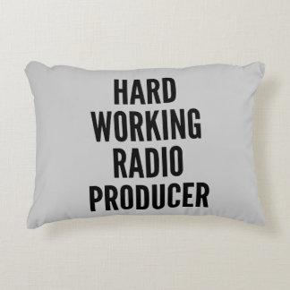 Productor de radio de trabajo duro cojín decorativo