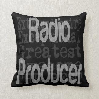 Productor de radio Extraordinaire Cojines
