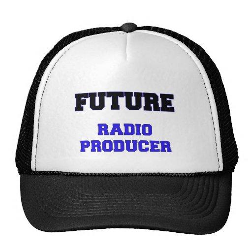 Productor de radio futuro gorra